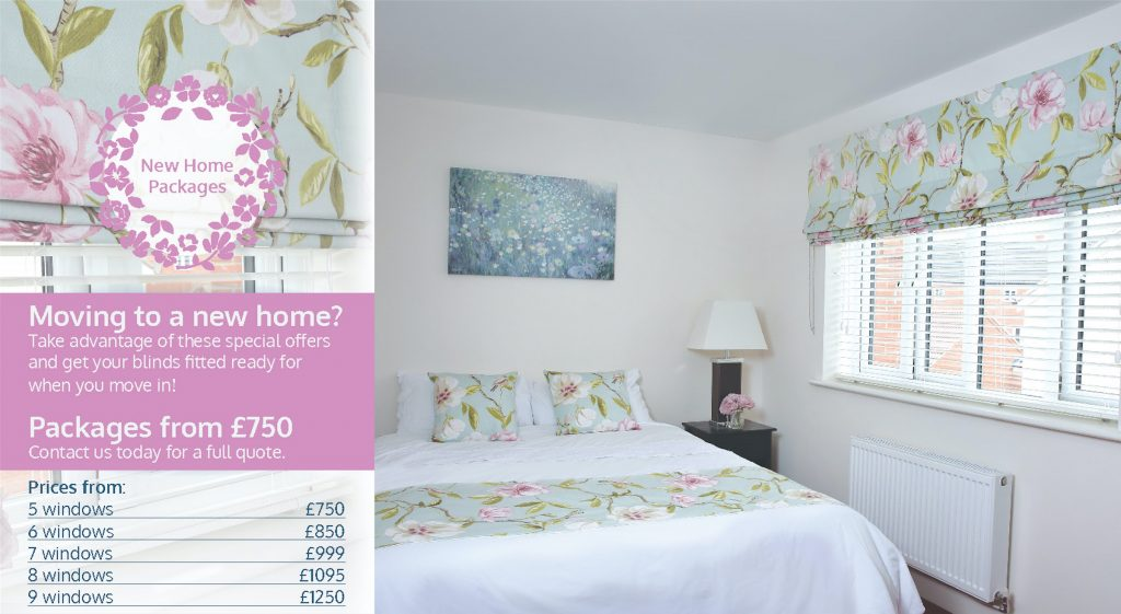 Special offer new homes norwich sunblinds for New home packages
