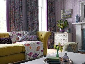Voyage Boutique Fabric Range for curtains and roman blinds