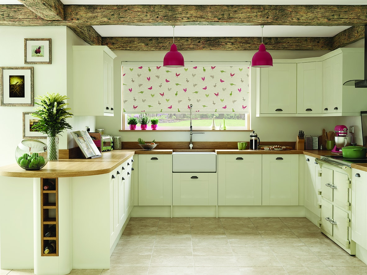 Kitchen roller blinds - Blinds Norfolk - Norwich Sunblinds