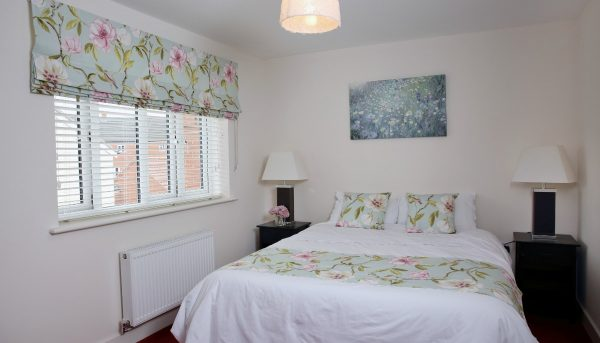 Bedroom blinds in a new house - Blinds Norfolk - Norwich Sunblinds