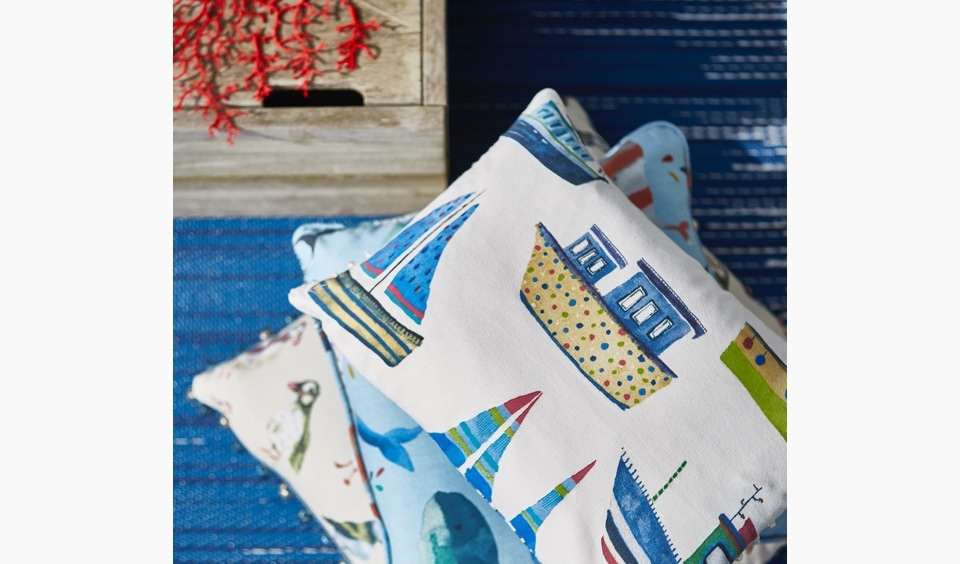 Boat designs cushions
