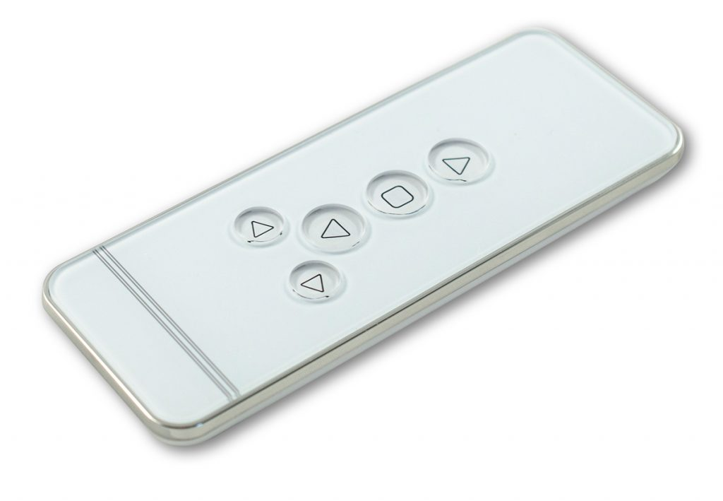 Remote control for motorised blinds