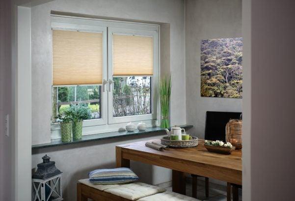 Vanilla coloured roller blinds - Blinds Norfolk - Norwich Sunblinds