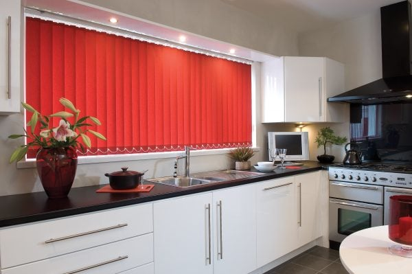 Vertical blinds for the kitchen by RA Irwin
