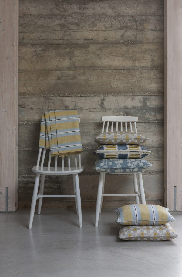 Nordica fabric by Clarke & Clarke – ideal for beach huts!