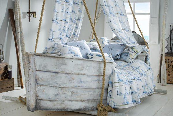 Seascape Riviera fabric by iLiv