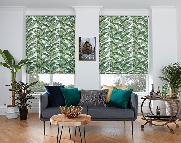 Roman Blinds from Norwich Sunblinds