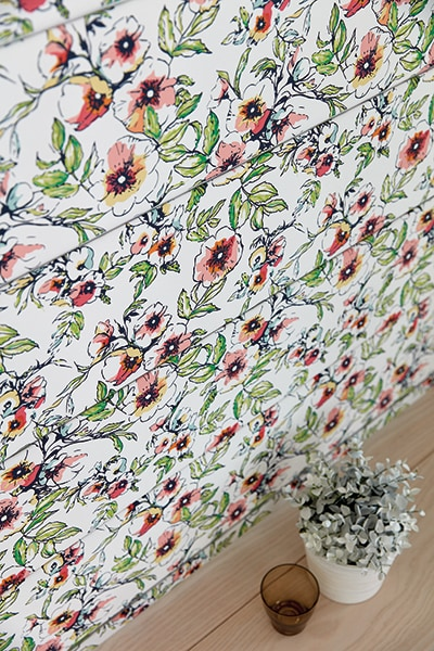 Wildflower Porcelain fabric by Louvolite