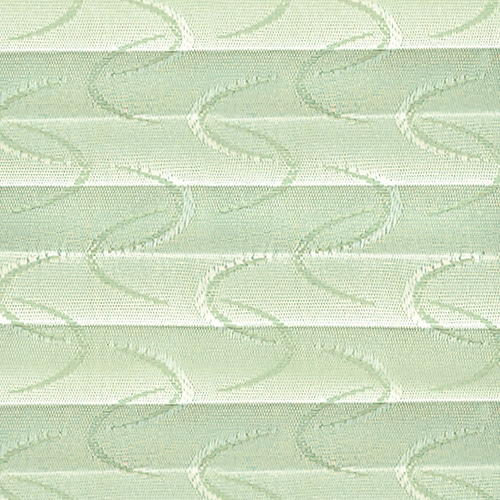 Digital fabric sample - pleated blind fabric in emerald