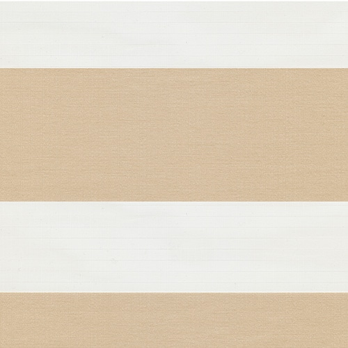 digital fabric sample beige and cream striped vision blind fabric