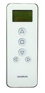 Control up to 14 blinds in one go with the Louvolite remote