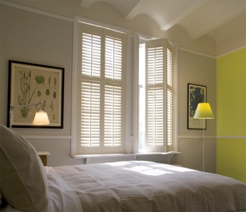 Create a luxury feel in your bedroom Your shutters will be made to measure by Norwich Sunblinds - Shutters Norfolk - Norwich Sunblinds