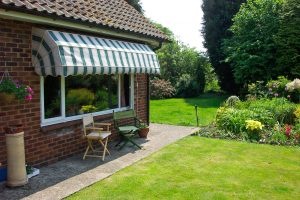 Dutch Canopy as supplied by Norwich Sunblinds