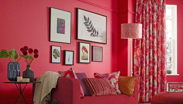Pomegranate Curtains - Curtains Norfolk - Norwich Sunblinds