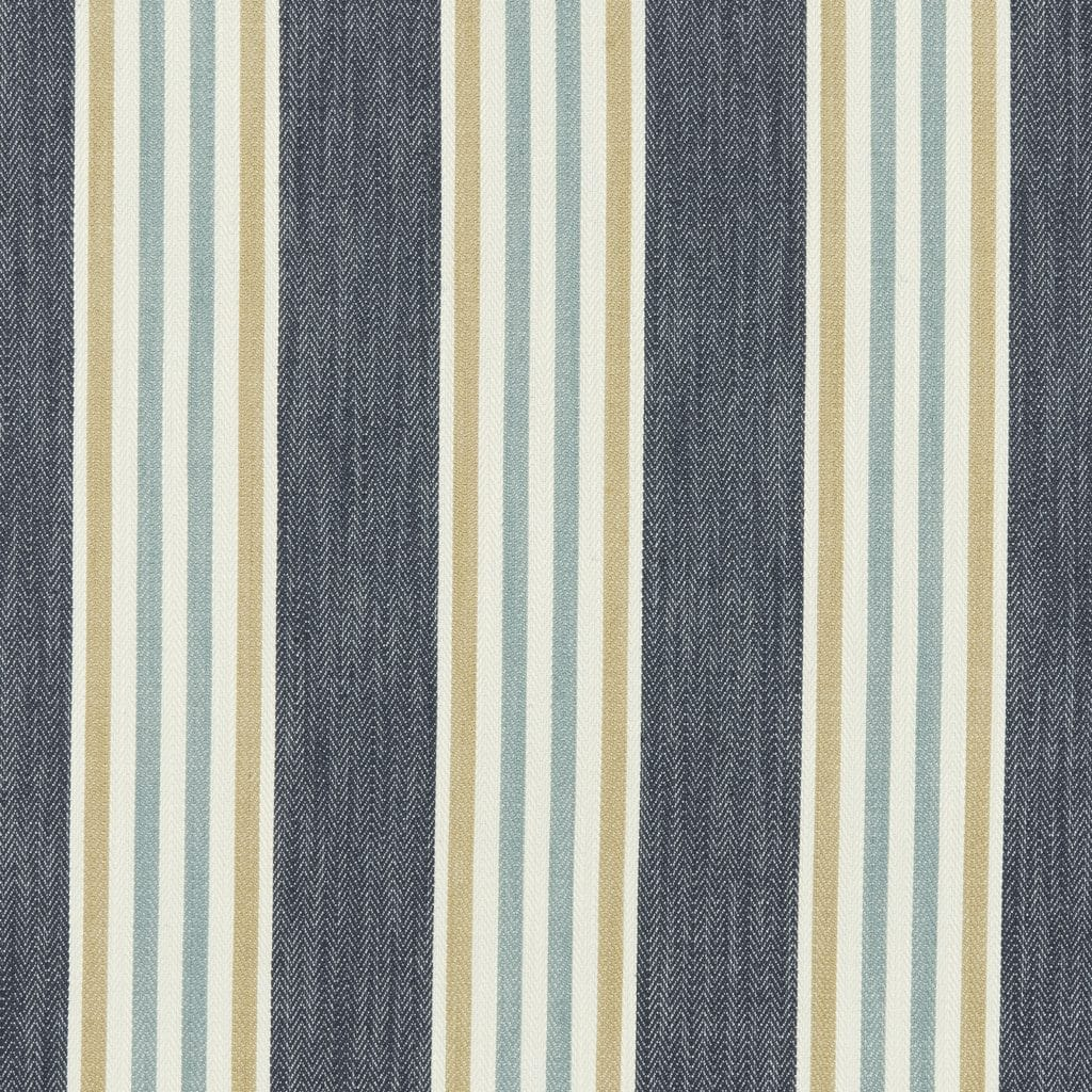 Grey and yellow stripes: the perfect combination Bloomsbury fabric Blinds Norfolk - Norwich Sunblinds