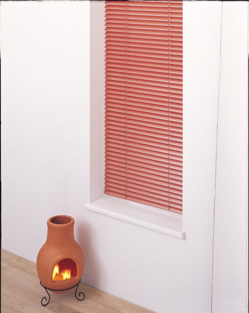 Terracotta venetian blinds create a feeling of warmth Blinds Norfolk - Norwich Sunblinds