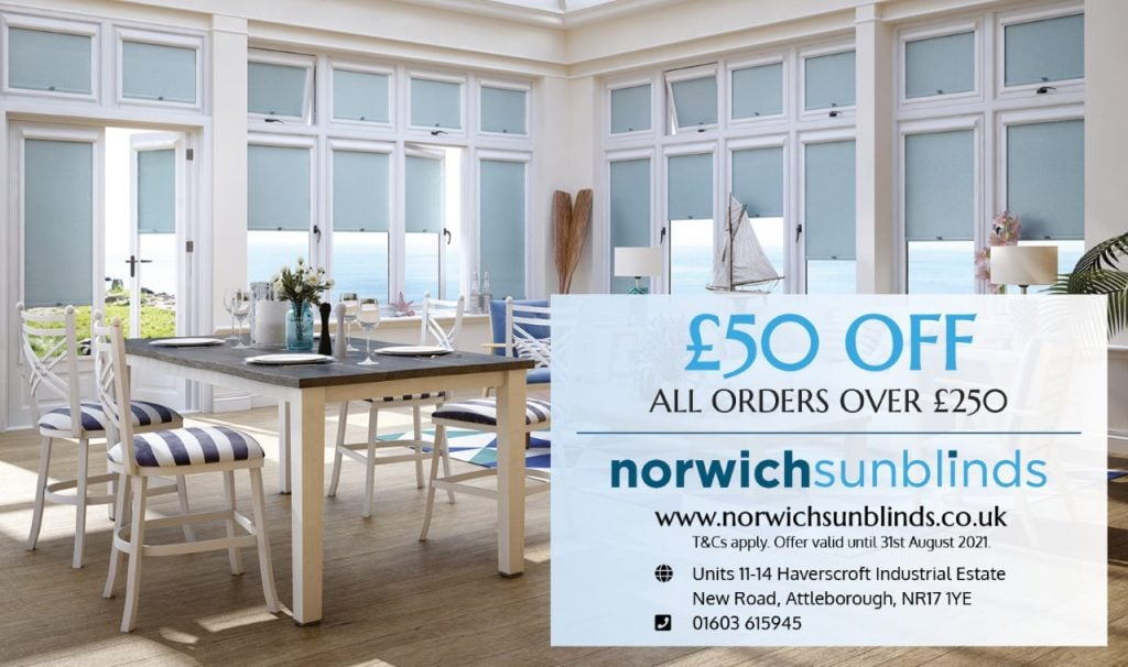 £50 off all orders over £250 this Summer